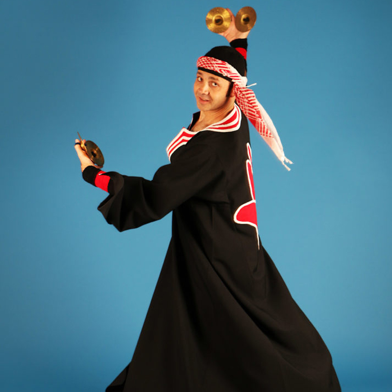 YAMA dancer and musician Karim Nagi