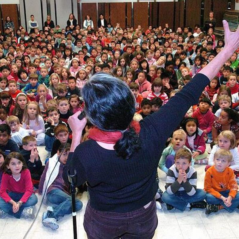 Norah Dooley offers storytelling performances and storytelling workshops